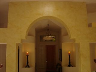 Residential faux finish